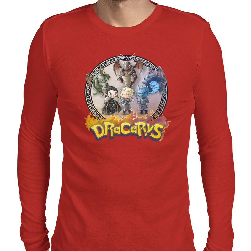Mother of Dragonites Men's Long Sleeve Tee