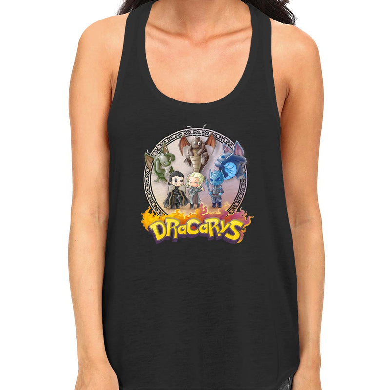 Mother of Dragonites Women's Racerback Tank