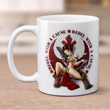 star wars rebel with a cause mug