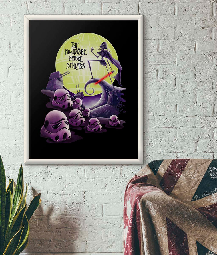 Star Wars The Nightmare Before Sithmas Poster