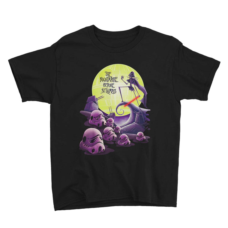 Star Wars The Nightmare Before Sithmas Kids Classic Tee