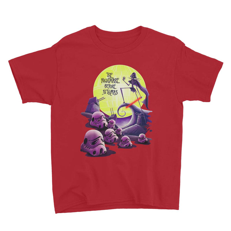 star wars nightmare before christmas tshirt