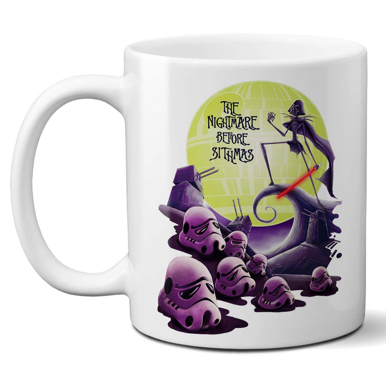Star Wars The Nightmare Before Sithmas Mug