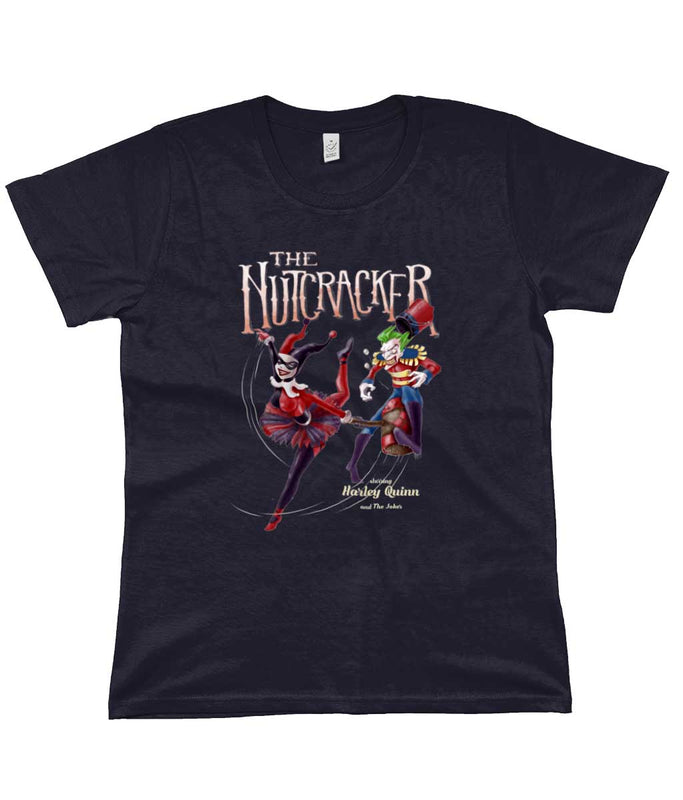 harley quinn and the joker t-shirt the nutcracker