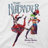 the joker and harley quinn in nutcracker t-shirt