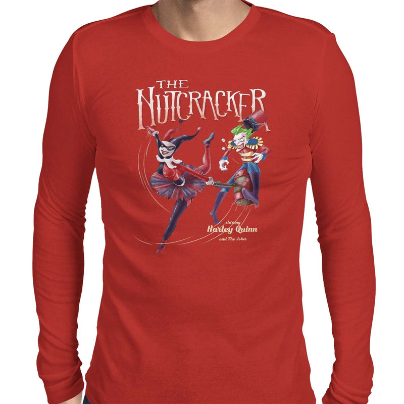 harley quinn t-shirt the nutcracker tee red