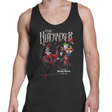 the joker and harley quinn tank top black