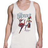 the joker and harley quinn tank top white