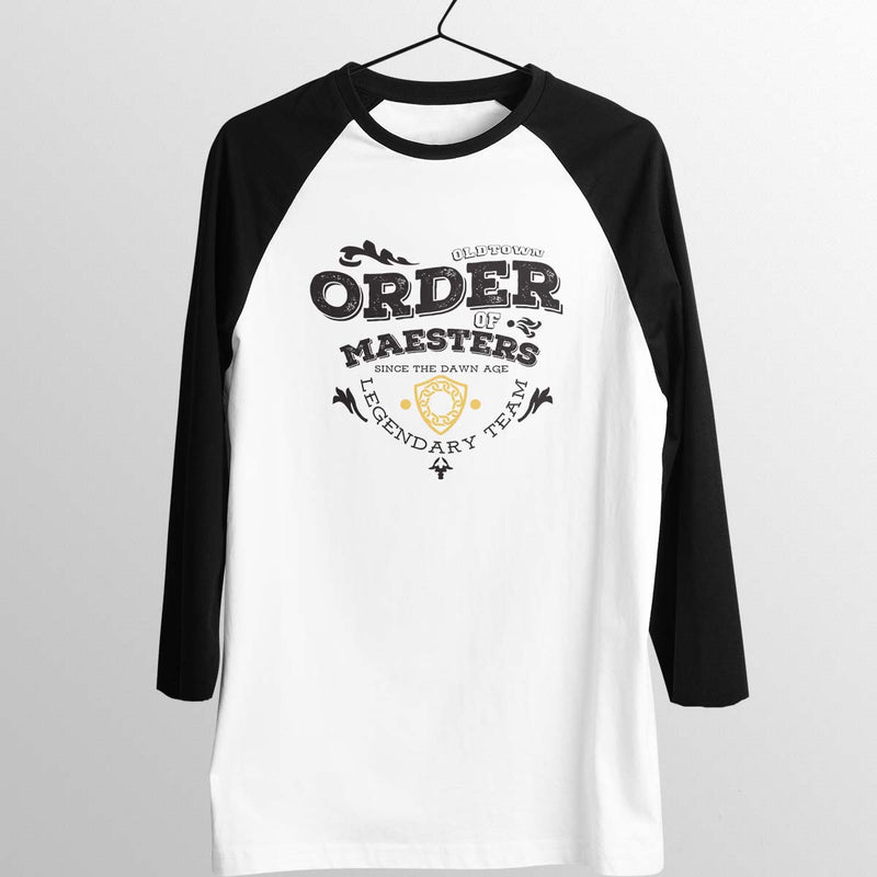 game of thrones order of maesters baseball tee