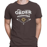 game of thrones order of maesters t-shirt brown