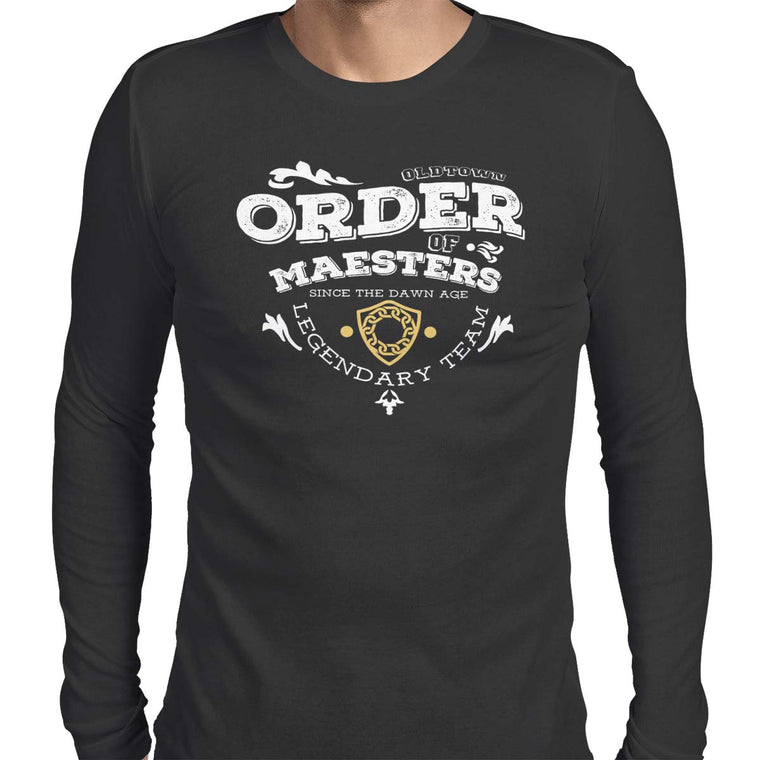 Order of Maesters Men's Long Sleeve Tee