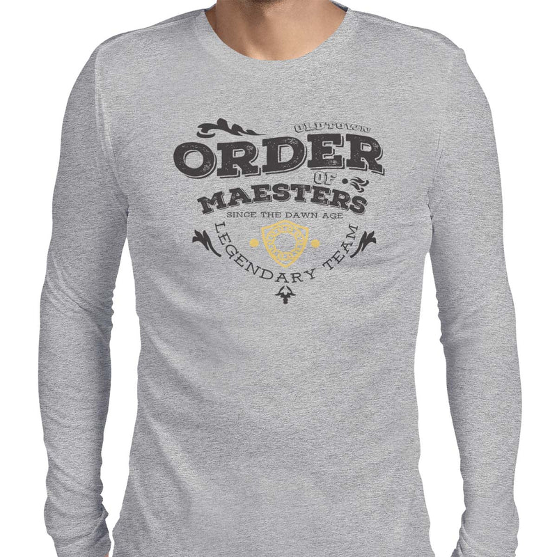 game of thrones order of maesters t-shirt grey