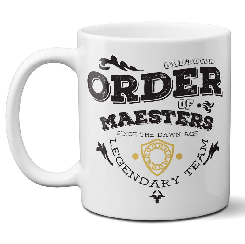 game of thrones order of maesters mug
