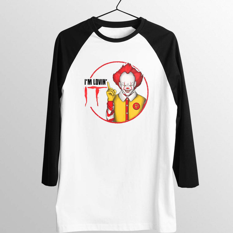 Pennywise Lovin' IT Unisex Baseball Tee