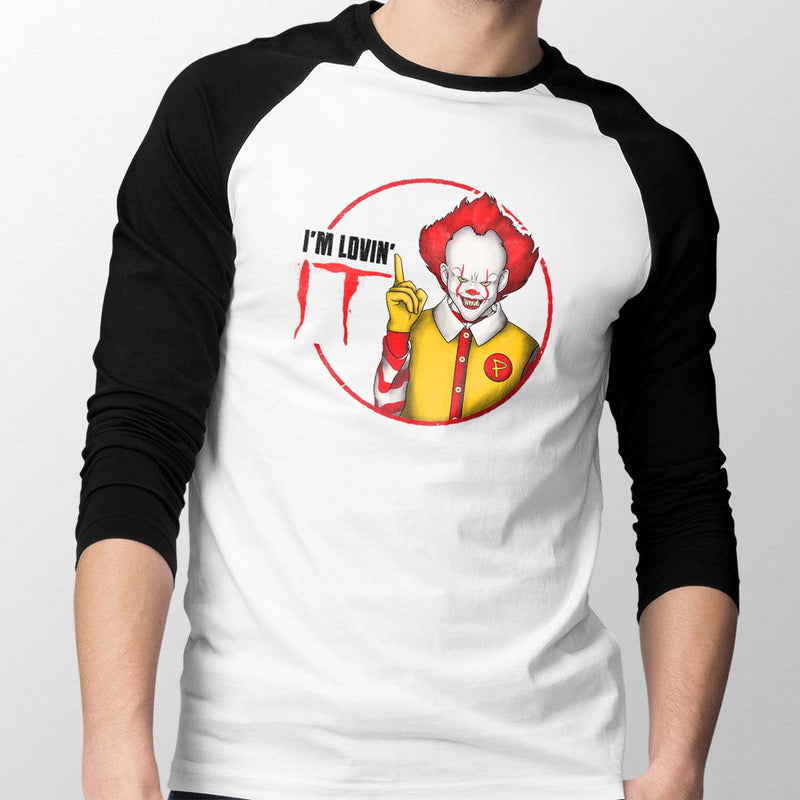 pennywise baseball tee mens