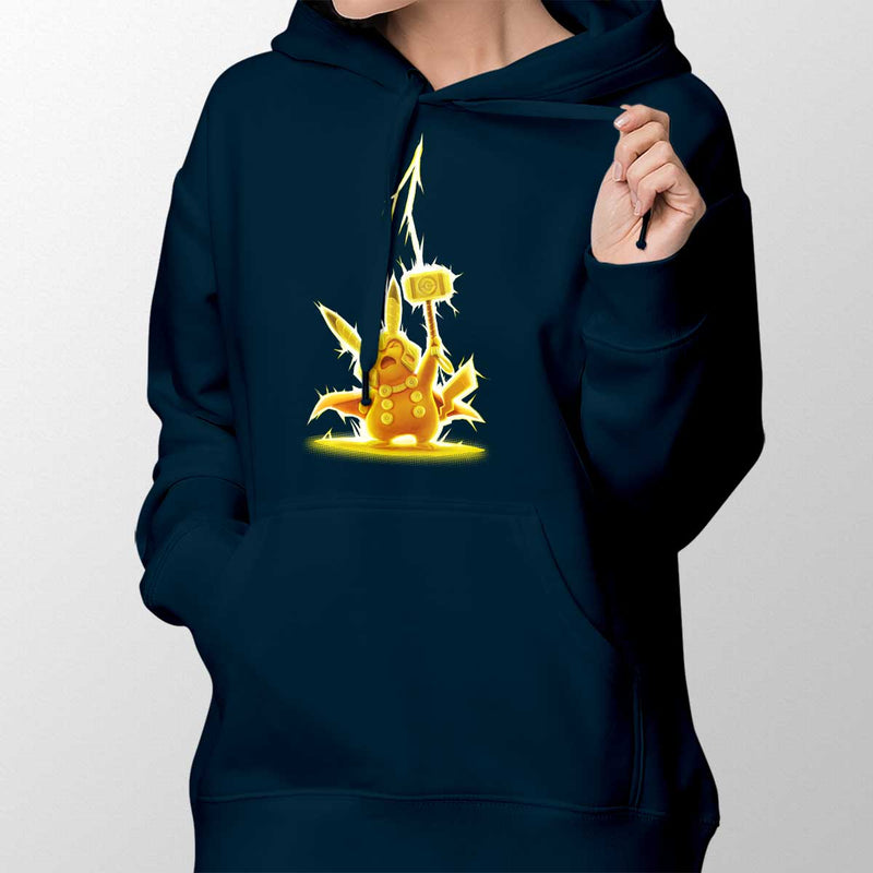 pikathor womens pullover hoodie navy