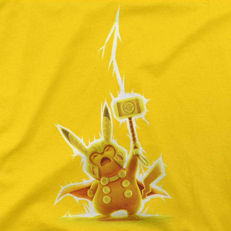 avengers pokemon pikathor tee