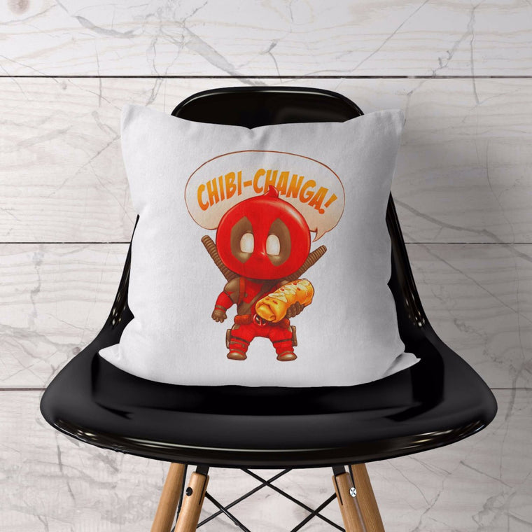 Chibi-Changa Deadpool Cushion