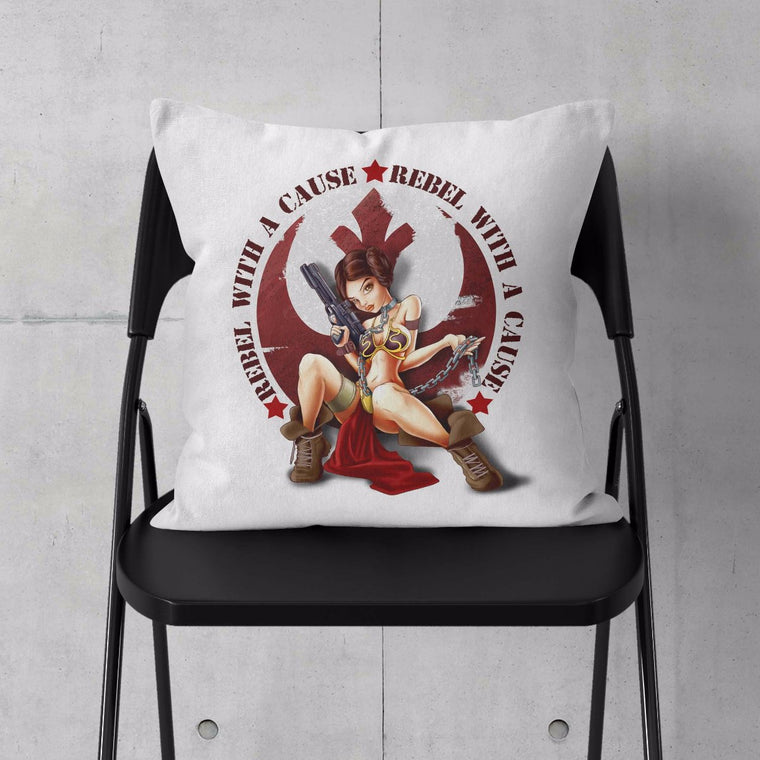 Star Wars: Rebel With a Cause Throw Cushion