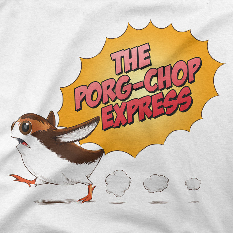 star wars porg t-shirt purple