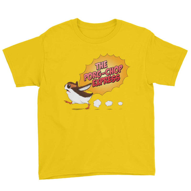 star wars porg tshirt yellow