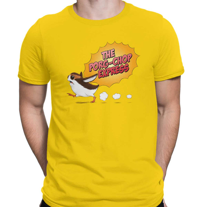 star wars porg tee yellow