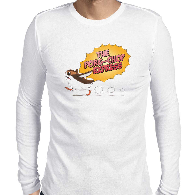 Porg-Chop Express Men's Long Sleeve Tee