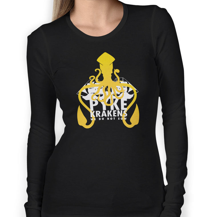 Pyke Krakens Women's Long Sleeve Tee