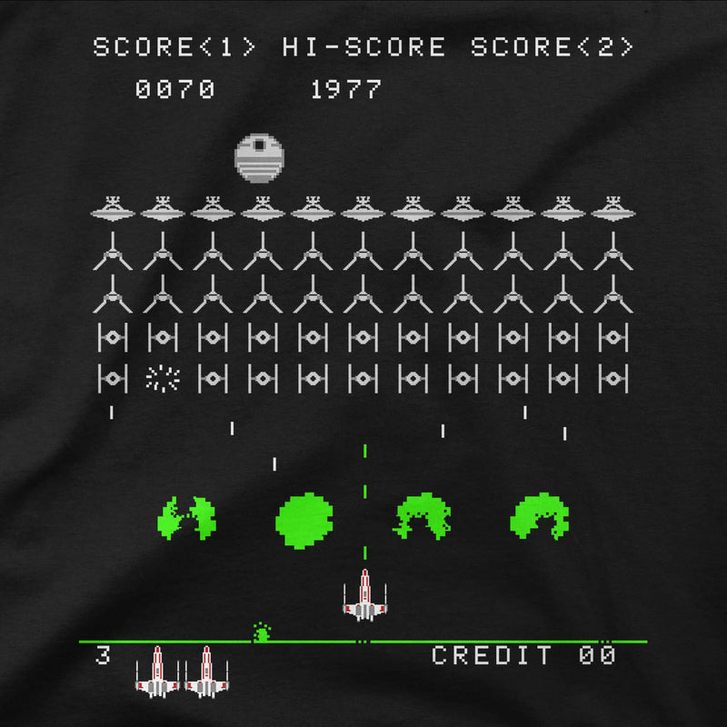 star wars rebel invaders t-shirt design