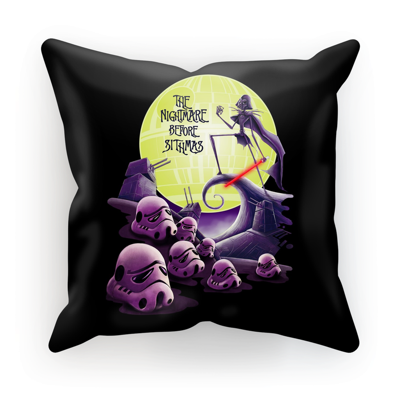 star wars nightmare before christmas cushion