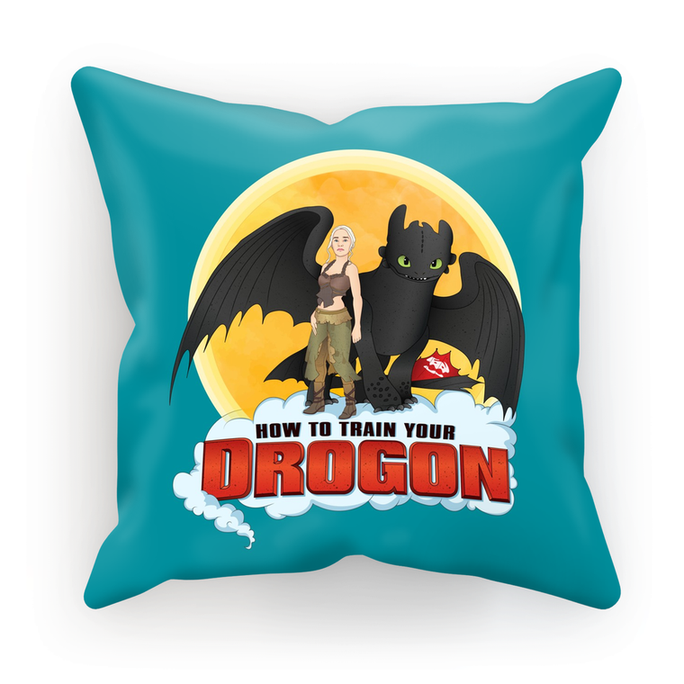 How To Train Your Drogon Cushion