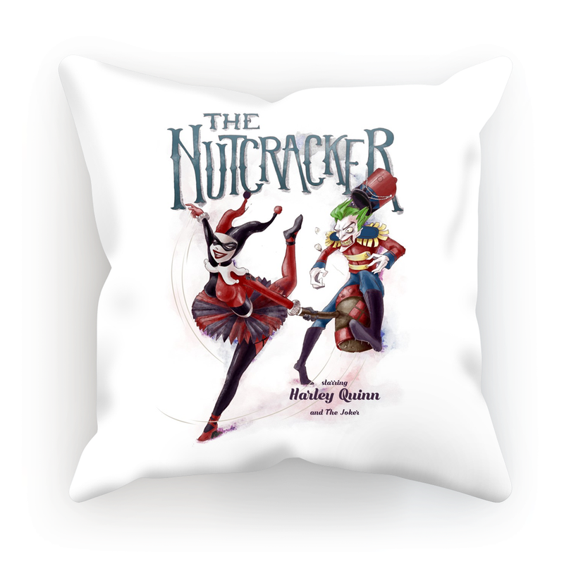 the joker and harley quinn cushion the nutcracker