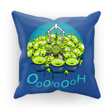Toy Yoda Throw Cushion