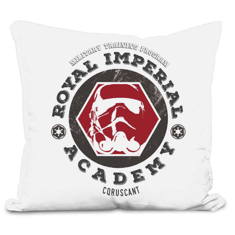 royal imperial academy cushion white