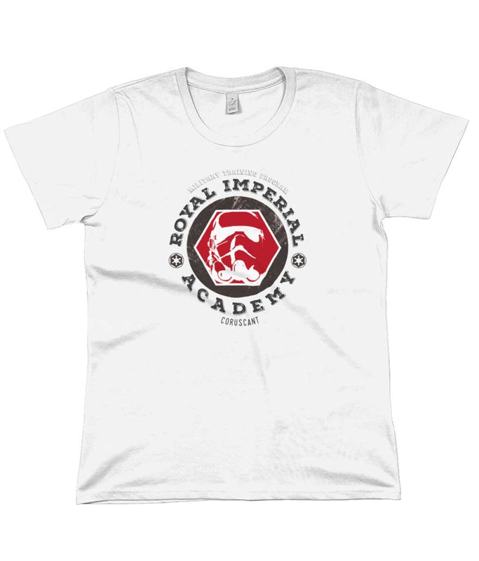 royal imperial academy star wars t-shirt white