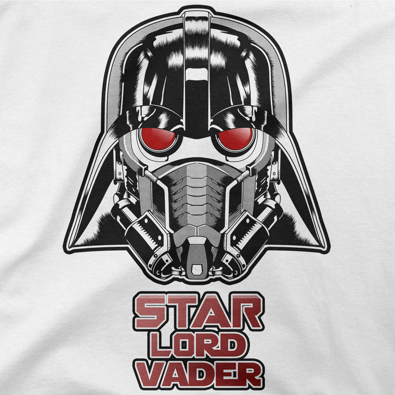 star wars marvel star lord vader t-shirt