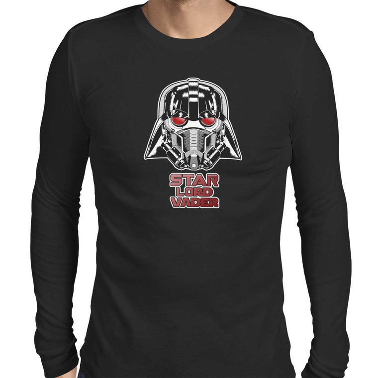 Star Lord Vader Men's Long Sleeve Tee