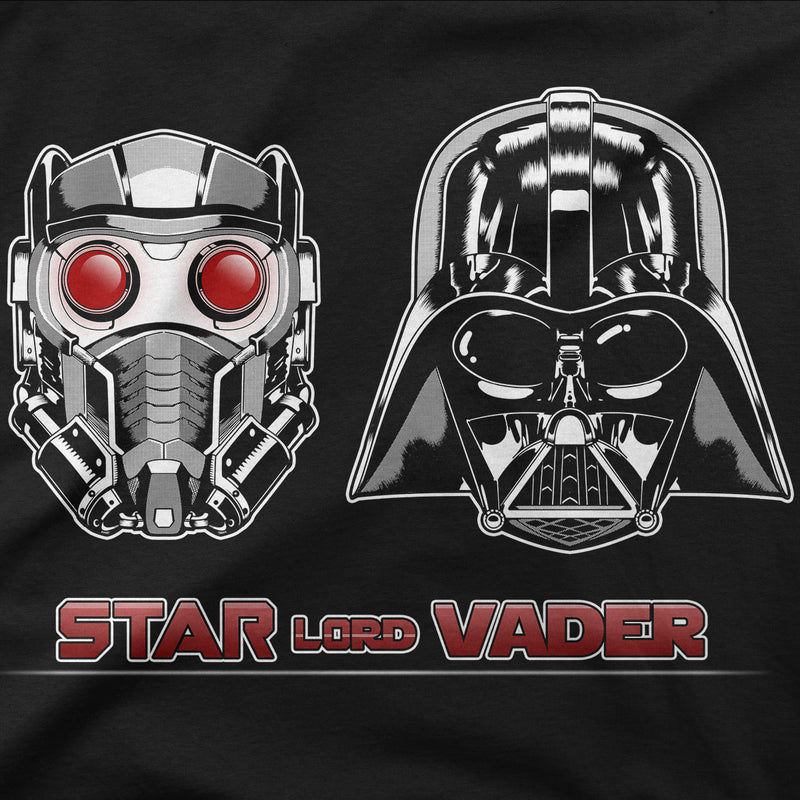 star wars marvel star lord vader guardians of the galaxy t-shirt design