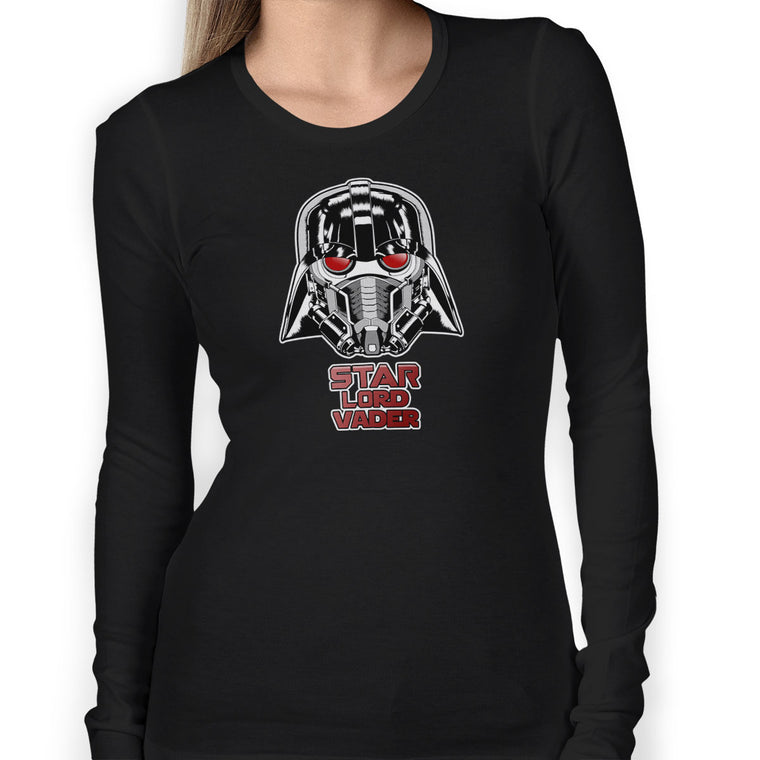 Star Lord Vader Women's Long Sleeve Tee