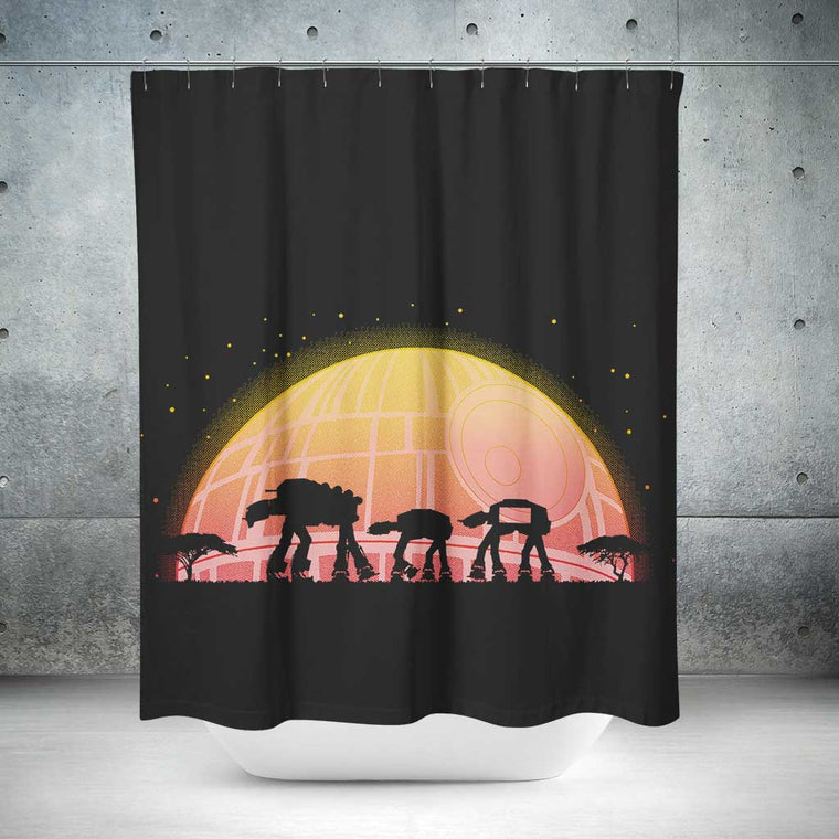 Star Wars AT-RICA Shower Curtain
