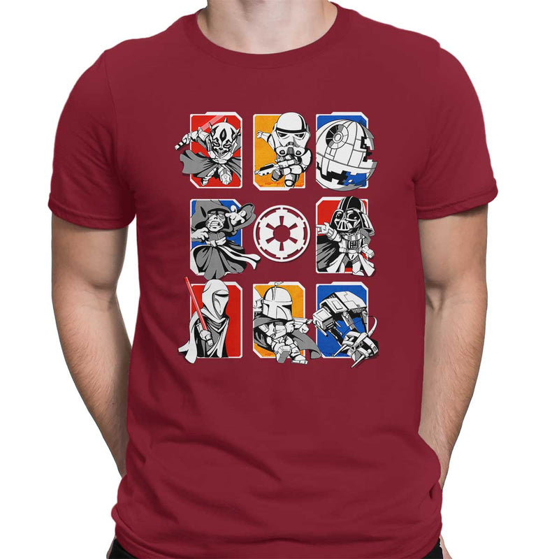 Dark Side/Light Side Chibi Men's Classic Tee
