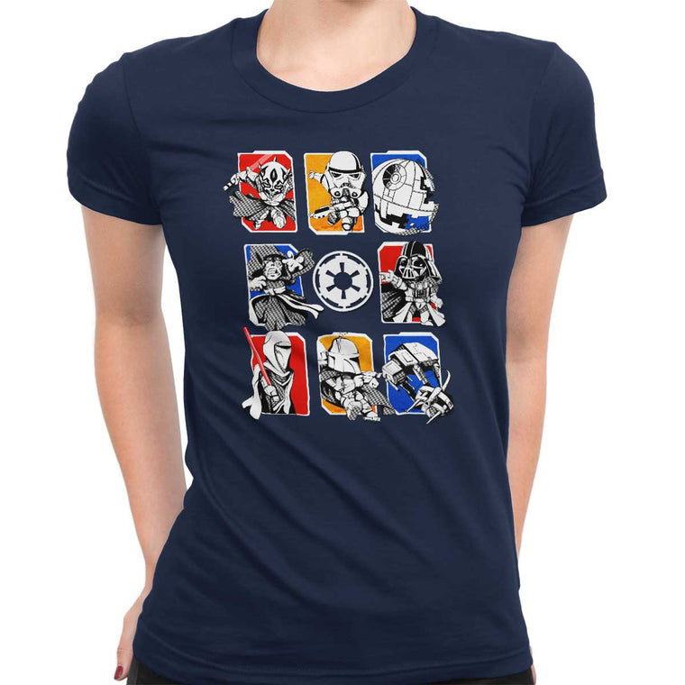 Dark Side/Light Side Chibi Women's Classic Tee
