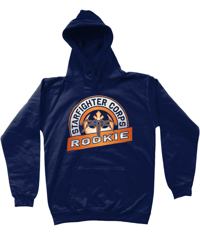 star wars hoodie starfighter corps kids navy