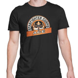 star wars t-shirt starfighter corps tee black