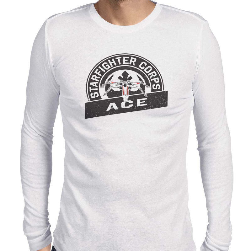 star wars starfighter corps t-shirt white