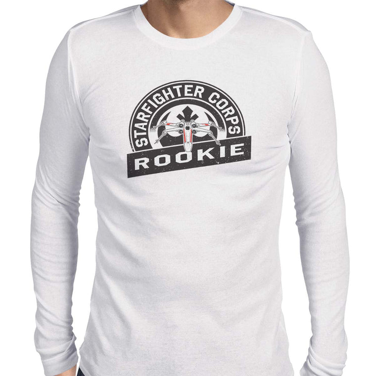 Star Wars Starfighter Corps Men's Long Sleeve Tee