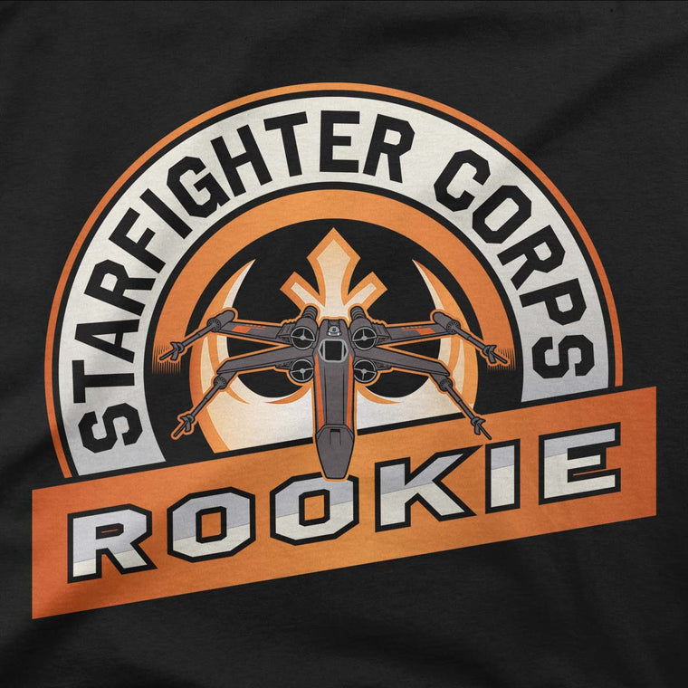star wars starfighter corps tshirt grey