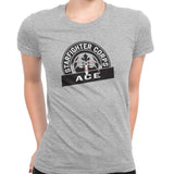 star wars starfighter corps tee grey