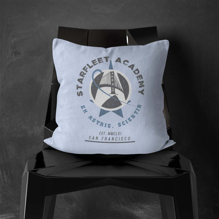Starfleet Academy Throw Cushion