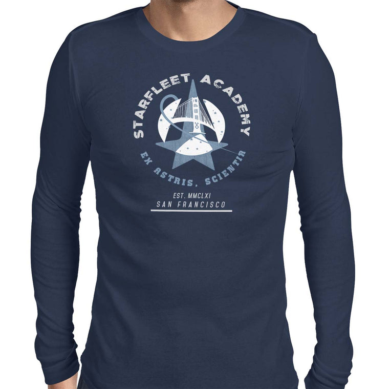 Star Trek: Starfleet Academy Men's Long Sleeve Tee